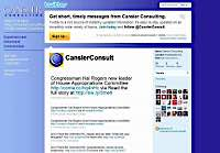 Cansler Consulting Twitter & Facebook