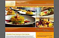 Chef's Catering web site design