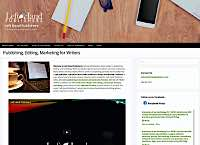 Client Work Examples: Left hand Publishers responsive web site/blog design page design by Metheney Consulting